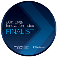2015 Legal Innovation Index Finalist