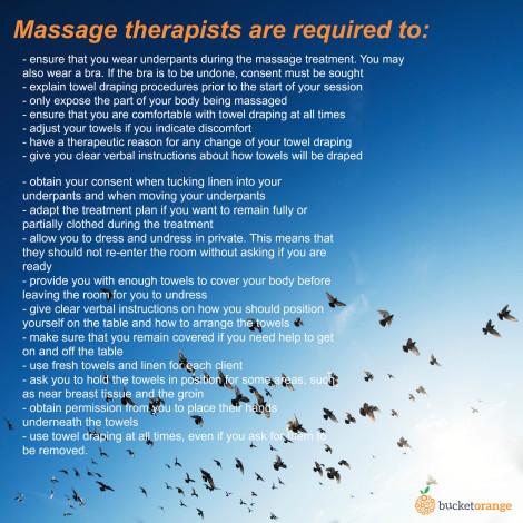Massage requirements 4