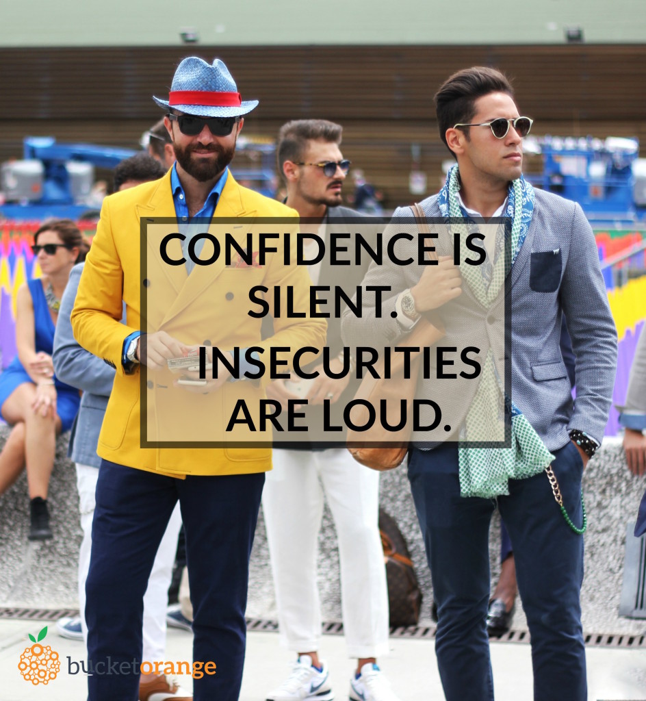 CONFIDENCE IS SILENT_QUOTE