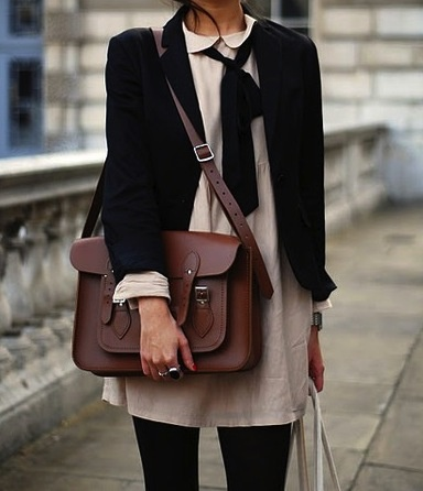 Office style: Using a satchel for work